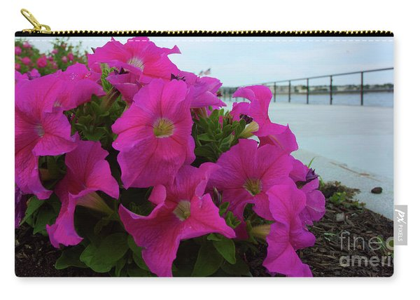 Walkway Petunias Carry-all Pouch