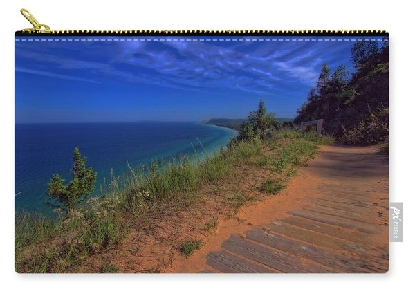 Walkway To Beautiful Sleeping Bear Dunes Carry-all Pouch