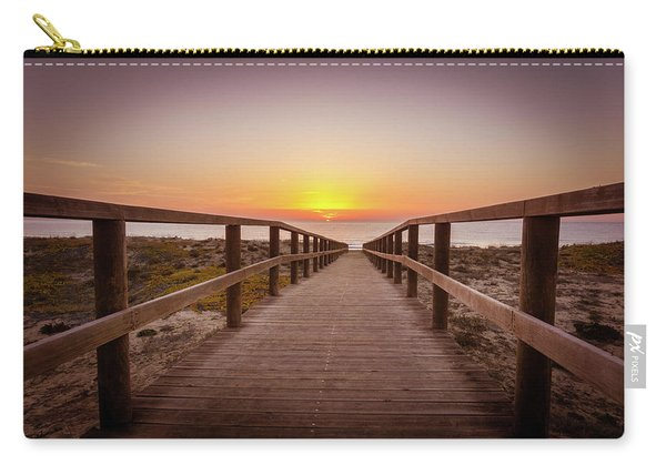 Walkway To The Sunrise Carry-all Pouch