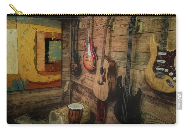 Wall Of Art And Sound Carry-all Pouch