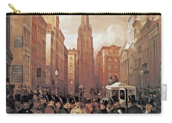 Wall Street 1857 Carry-all Pouch