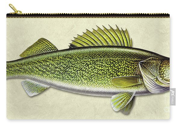 Walleye Id Carry-all Pouch