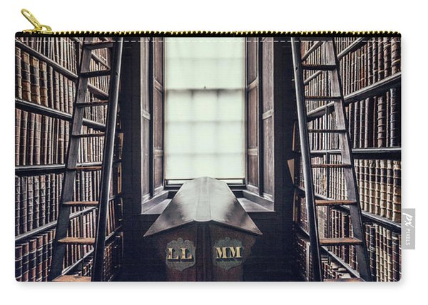 Walls Of Books Carry-all Pouch