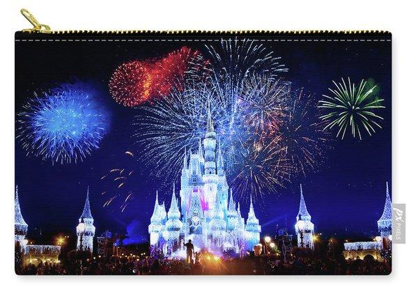 Walt Disney World Fireworks  Carry-all Pouch