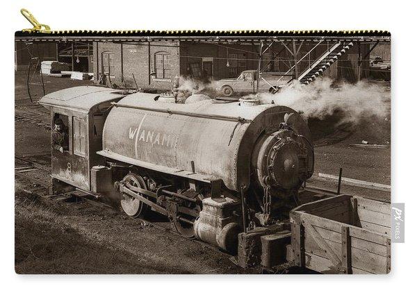 Wanamie Pennsylvania Coal Mine Locomotive Lokey 1969... Carry-all Pouch