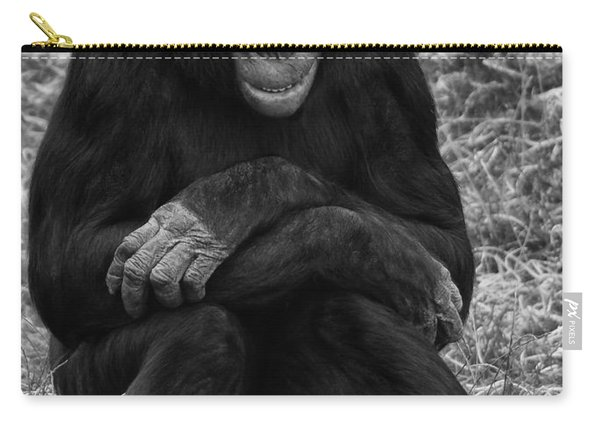 Carry-all Pouch featuring the photograph Wanna Be Like You by Nick Bywater