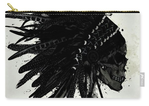 Warbonnet Skull Carry-all Pouch