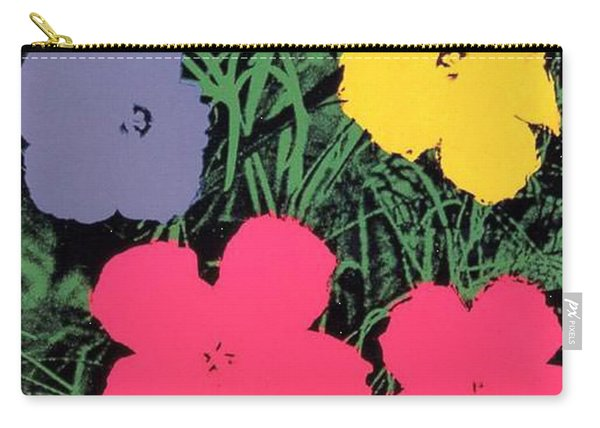 Warhol - Flowers 4 Andy Warhol Carry-all Pouch