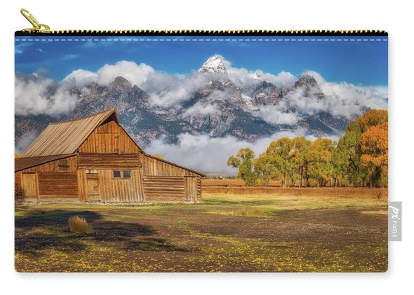 Warm Morning Light In The Tetons Carry-all Pouch