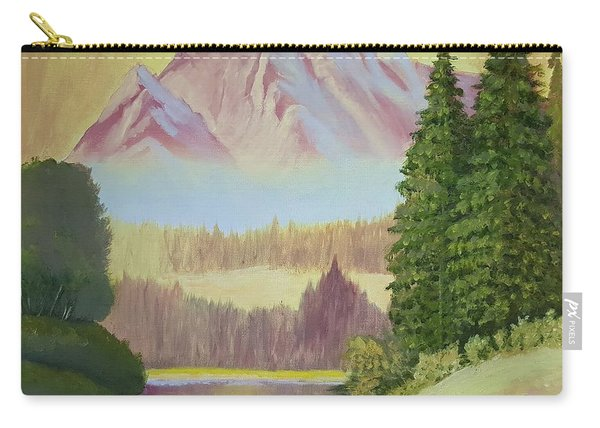 Warm Mountain Carry-all Pouch