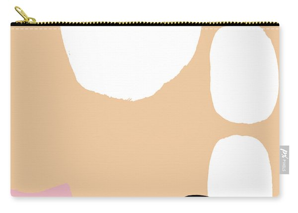 Warm Pastel Abstract Carry-all Pouch