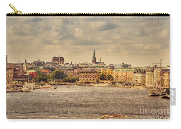 Warm Stockholm View Carry-all Pouch