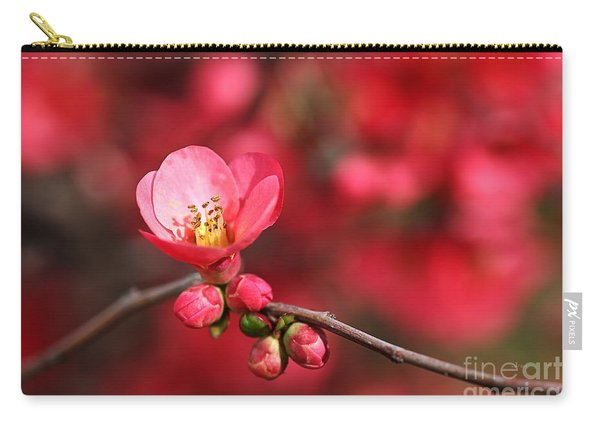 Warmth Of Flowering Quince Carry-all Pouch