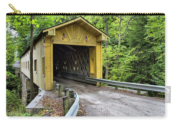 Warner Hollow Covered Bridge Carry-all Pouch