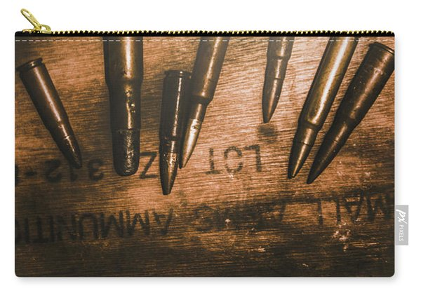 Wars And Old Ammunition Carry-all Pouch