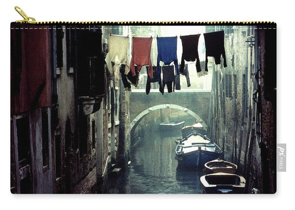Washday In Venice Italy Carry-all Pouch