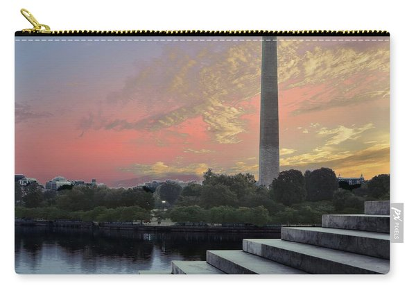 Washington And Steps Carry-all Pouch