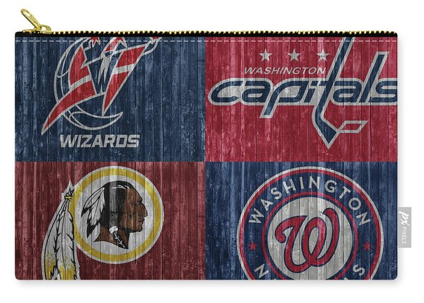 Washington Dc Sports Teams Carry-all Pouch