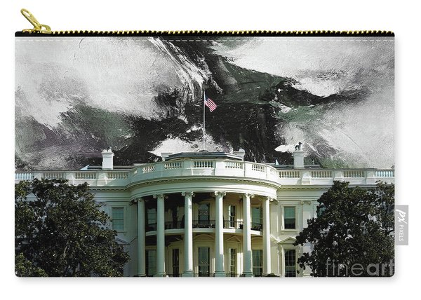 Washington Dc, White House Carry-all Pouch