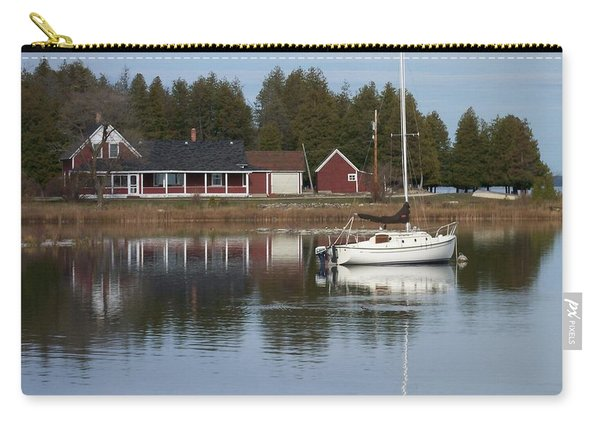 Washington Island Harbor 4 Carry-all Pouch