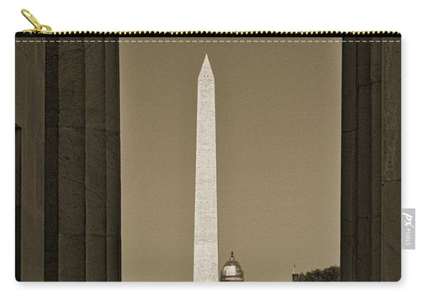 Washington Monument And Capitol #4 Carry-all Pouch