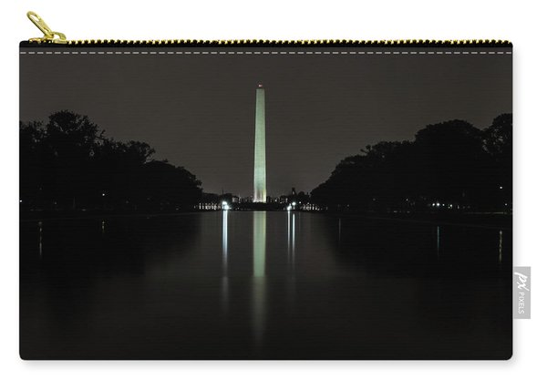 Washington Monument At Night Carry-all Pouch
