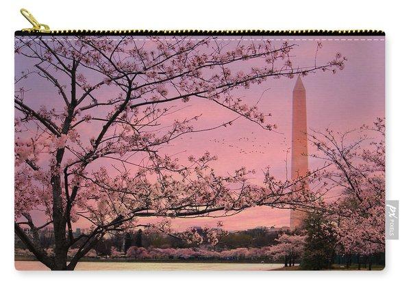 Washington Monument Cherry Blossom Festival Carry-all Pouch