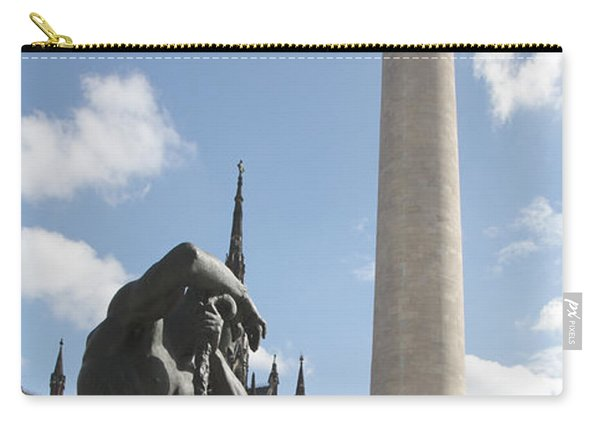 Washington Monument In Baltimore Carry-all Pouch