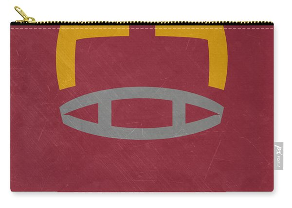 Washington Redskins Vintage Art Carry-all Pouch