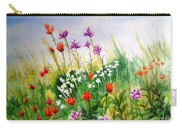 Washington Wildflowers Carry-all Pouch