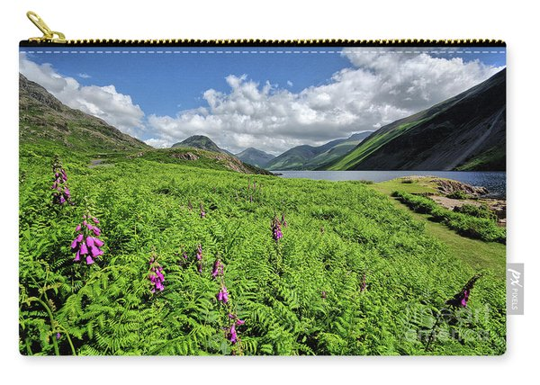 Wastwater Foxgloves Carry-all Pouch