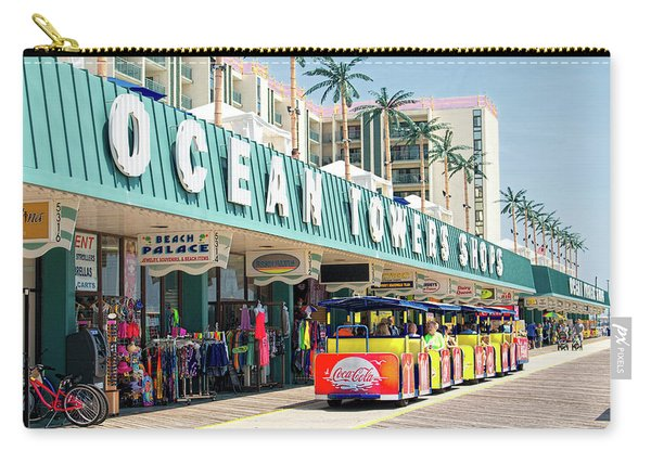 Watch The Tram Car - Wildwood, Nj Carry-all Pouch