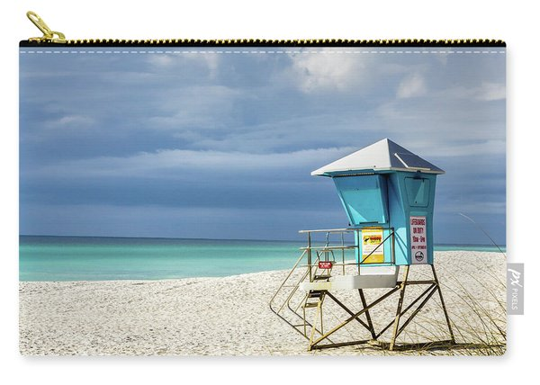 Lifeguard Tower Florida Gulf Coast Carry-all Pouch