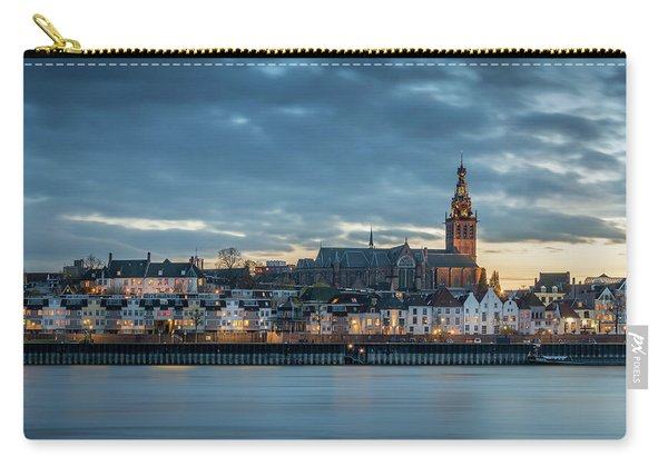 Watching The City Lights, Nijmegen Carry-all Pouch