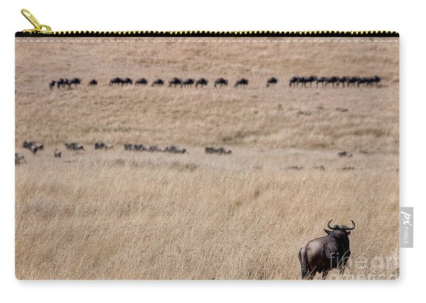 Watching The Herd Carry-all Pouch