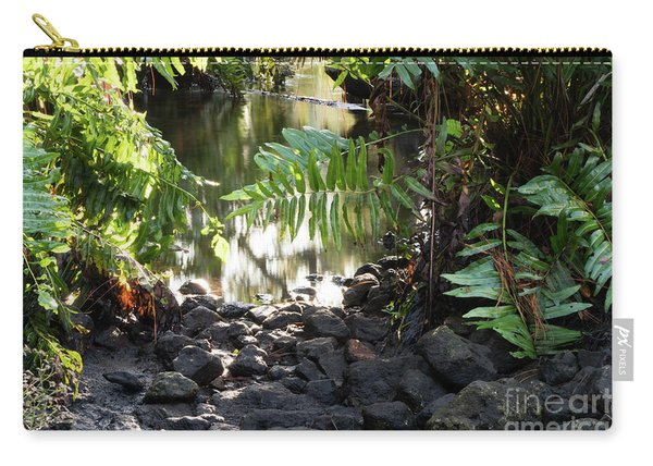 Water And Rocks Carry-all Pouch