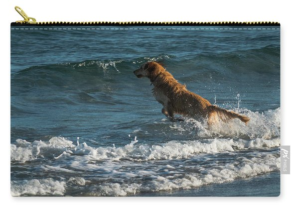 Water Dog Delray Beach Florida Carry-all Pouch