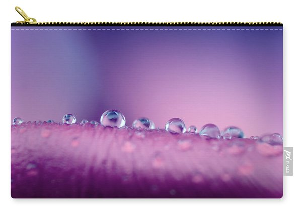 Water Drops Abstract Carry-all Pouch
