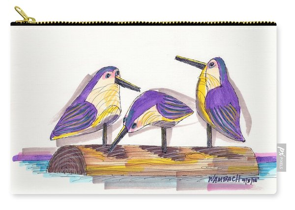 Water Fowl Motif #2 Carry-all Pouch