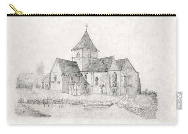 Water Inlet Near Church Carry-all Pouch