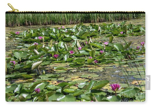 Water Lilies At Giverny - 2 Carry-all Pouch