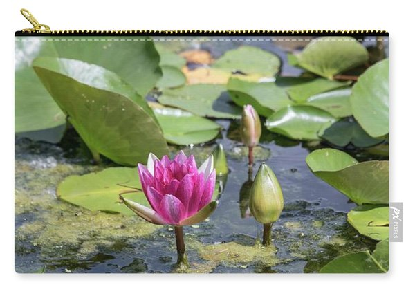 Water Lilies At Giverny - 3 Carry-all Pouch