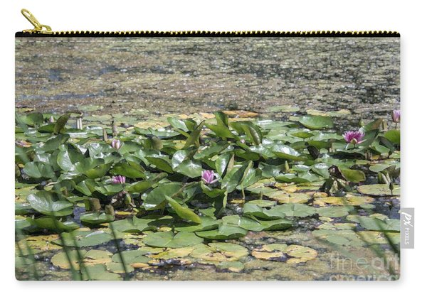 Water Lilies At Giverny - 5 Carry-all Pouch