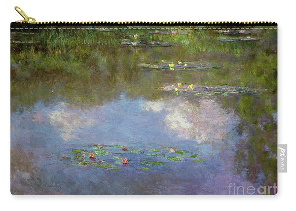 Water Lilies, The Cloud, 1903 Carry-all Pouch