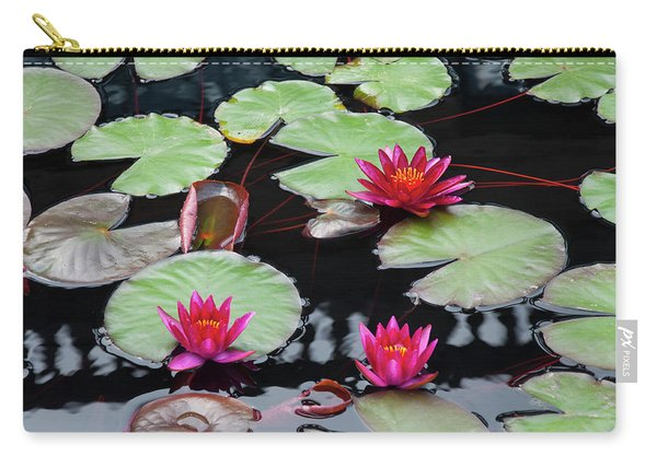 Water Lillies In Longwood Gardens Chester County Pa Carry-all Pouch