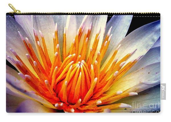 Water Lily Flower Carry-all Pouch