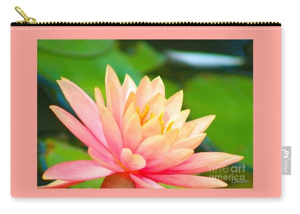 Floating Water Lily  Carry-all Pouch