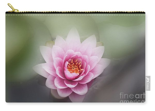 Water Lotus Flower Carry-all Pouch