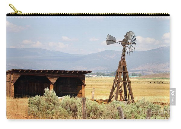 Water Pumping Windmill Carry-all Pouch