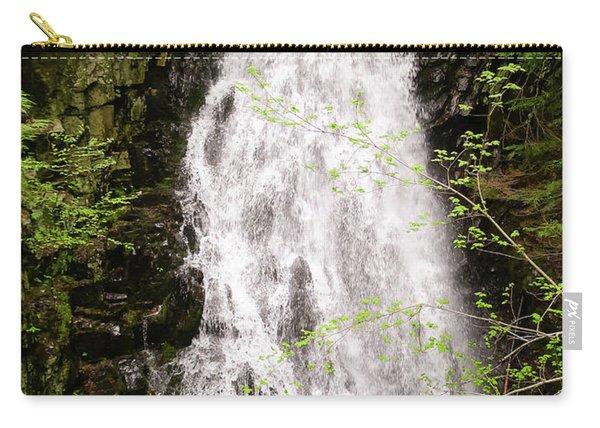 Water Roaring Down Cascade Falls, Farmington, Maine  -30377 Carry-all Pouch